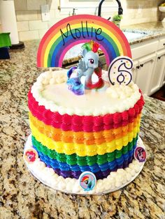 My Little Pony Birthday Cake on Cake Central