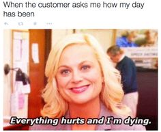 On keeping it real: | 25 Pictures That Will Give Retail Workers Intense Flashbacks