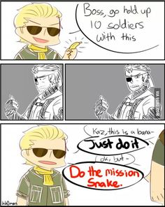 Made by a fan of Metal Gear Solid.