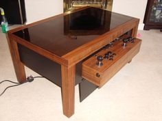 Arcade Coffee Table Things for My Wall Pinterest Coffee