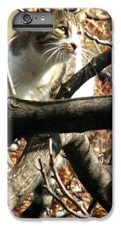 #Cat Hunting Bird #iPhone 6 Plus #Case by Judi Saunders