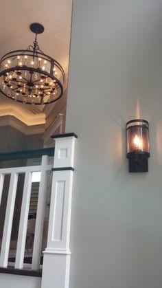 Lodder Homes. Interior Design by Elaine Shipley. Lights from Lighting Design.  Sconce: http://www.lightingdesign.com/Kalco/5795BZ/One%20Light%20Ada%20Wall%20Bracket-Morris