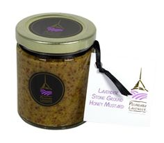 By blending ground mustard seed with our Lavender Honey and Organic Culinary Lavender bud, we have created our own unique gourmet slant on this long-favored sweet condiment.