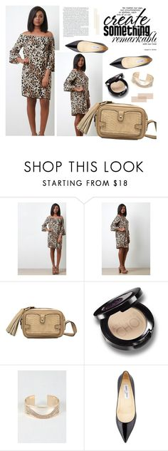 """""""What's your chic?"""" by merima-kopic ❤ liked on Polyvore featuring Allegra, Jimmy Choo, chic, trend and WhatsYourchic"""