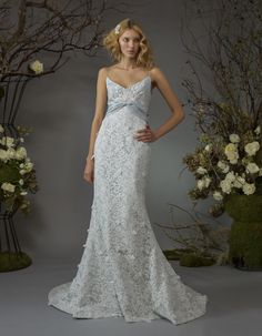 View the Elizabeth Fillmore Fall 2014 Bridal collection. See photos and video of the runway show. Non White Wedding Dresses, Wedding Dresses 2014, Designer Wedding Dresses, Bridal Dresses, Wedding Gowns, Bridesmaid Dresses, Dresses 2013, Wedding Trends, Bridesmaids