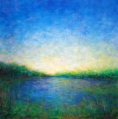 "Saatchi Art Artist Victoria Veedell; Painting, ""Limantour Passage"" #art"