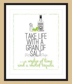 Take Life With A Grain of Salt...