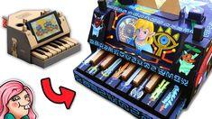 Nintendo Labo Piano Custom Paint Job - Legend of Zelda Breath of the Wild Nintendo World, Custom Consoles, Legend Of Zelda Breath, Custom Paint Jobs, Breath Of The Wild, Videogames, Piano, Geek Stuff, Cool Stuff