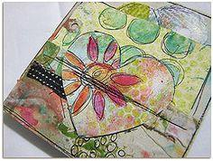 texture art journal/ Roben Marie❤❤