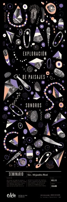 Universo sonoro by Micaela Podržaj, via Behance