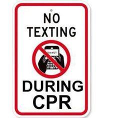 Message to display when teaching my CPR classes Ems Humor, Medical Humor, Nurse Humor, Work Humor, Transcendental Meditation Technique, Doctor Humor, Sad Life, Just Breathe, Film Music Books
