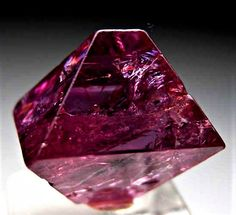 - Spinel : Mogok, Myanmar thumbnail - x x cm - Sharp, lustrous single crystal with smooth faces and lots of gem zones. Minerals And Gemstones, Rocks And Minerals, Mogok, Beautiful Rocks, Mineral Stone, Rocks And Gems, Gems Jewelry, Stones And Crystals, Gem Stones