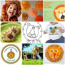 Custom Inspiration Board: Lion First Birthday Lion Birthday Party, Lion Party, Happy 4th Birthday, 1st Boy Birthday, Baby Party, First Birthday Parties, It's Your Birthday, Birthday Party Themes, First Birthdays