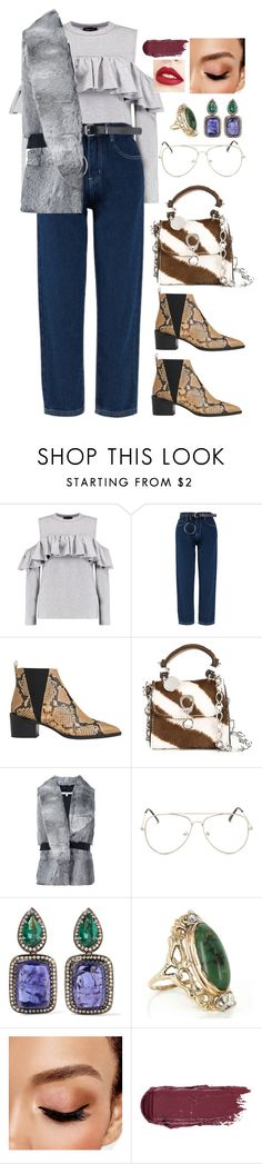 """Без названия #1775"" by froggydisastier ❤ liked on Polyvore featuring Boohoo, Whistles, Ermanno Scervino, Carven, Amrapali, Vintage, Avon and Jouer"