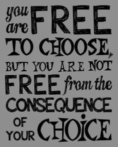Lia B. Creations: You are free to choose, but you are not freefrom ...