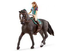 Schleich - 42413 - Horse Club Lisa & Storm #figurine #figurinecheval #schleich #horse #jouet #jeu #enfant #activité #cheval #figurines #figurineschleich #schleichhorse #cadeau #cadeauxnoel #cadeauanniversaire #activitéenfant ##borntobekids