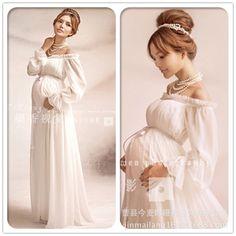 8c78c2cb93b Elegant lace Maternity dressPhotography Props Long dress pregnant women  clothes Fancy Pregnancy Photo props Shoot hamile elbise