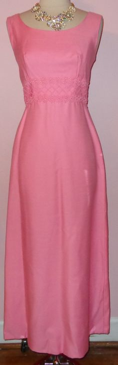 cf4a4729b3a Vtg NOS 70s Lord   Taylor Pink Full Length
