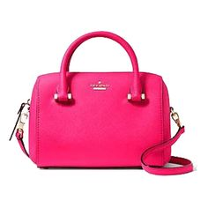 SandsPointShop.com Kate Spade Cameron Street Lane Bag in Pink (870 ILS) ❤ liked on Polyvore featuring bags, handbags, shoulder bags, pink, man bag, hand bags, leather crossbody purses, shoulder handbags and pink leather purse