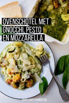 Veggie Recipes, Vegetarian Recipes, Cooking Recipes, Veggie Food, Cooking Tips, Gnocchi Pesto, How To Cook Gnocchi, Vegetarian Comfort Food, Good Food