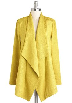 Let's Call a Chartreuse Jacket, #ModCloth