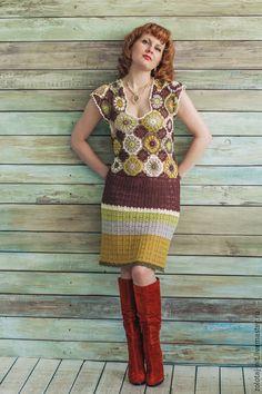 Платье Марта, в стиле кантри.