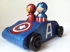 artcar  superhero or princess by thewhimsicalsweet on Etsy, $25.00