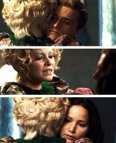 """"""" I actually cried at this part.I cried at a lot of this movie. I can't wait to see Mockingjay part 1 for my birthday :) Katniss And Peeta, Katniss Everdeen, Hunger Games Catching Fire, Hunger Games Trilogy, I Volunteer As Tribute, Mocking Jay, Suzanne Collins, Jennifer Lawrence, Good Movies"""