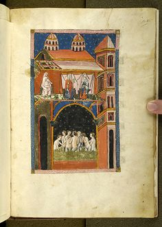 De balneis Puteolanis, MS G.74 fol. 28r - Images from Medieval and Renaissance Manuscripts - The Morgan Library & Museum