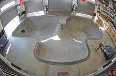Vans Skatepark Of Orange - Top professional and amateur skateboarders who live locally and skateboarders from all around the world tend to session this skatepark.