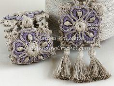 Ravelry: Bracelet/Wrist Cuff and Necklace Set pattern by Natalia Kononova