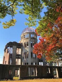 The Atomic Bomb Dome, Hiroshima, Japan. worldheritage, 原爆ドーム, 広島, 日本, 世界遺産