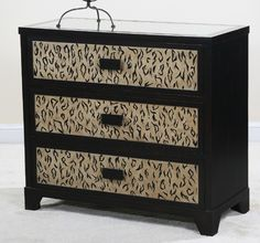 leopard print furniture images | ... Accent Chest With Leopard Print | Furniture Pictures & Designs Animal Print Decor, Animal Prints, Leopard Decor, Dresser As Nightstand, Dressers, Accent Chest, Safari Animals, Bedroom Decor, Bedroom Ideas