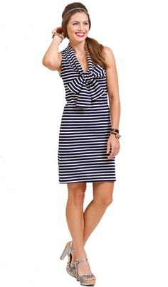 Bell by alicia bell Spring 2013 Nautical striped knit sailor dress