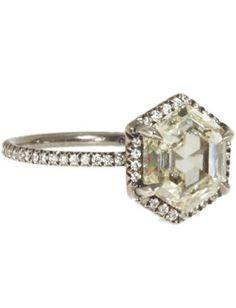 Hexagon Ring, $38,465, Monique Pean, barneys.com