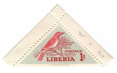 Liberia Postage Stamp: Pepper Bird | Flickr - Photo Sharing!