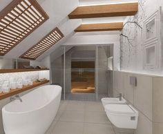 papier peint salle de bain et branches d'arbre nues sur fond blanc
