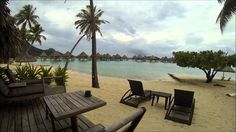 The entire e-Tahiti Travel team visiting the most beautiful hotels in Bora Bora !! What a hard job..