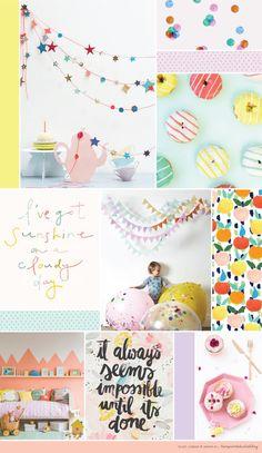 love print studio blog: Mood board yumminess...