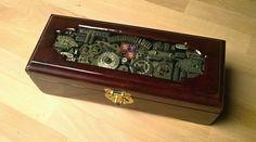Daniel Bernard Steampunk krabička na doutníky