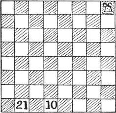 Acest puzzle implică plecarea dintr-un punct și terminarea excursiei în alt punct. Nu ne-ar conveni o excursie care s-ar termina lăsându-ne, de exemplu, în mijlocul Saharei. Tura din problema noastră face douăzeci și una de mișcări, pe parcursul cărora vizitează … Citeşte mai mult Mai, Poker, Tile Floor, Flooring, Games, Tile Flooring, Wood Flooring, Gaming, Plays