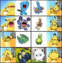 Pikachu's impressions