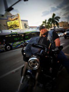 """Stan Ellsworth of """"American Ride"""" in Little Havana, Miami. Season 7"""