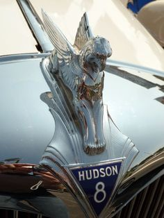 Hudson 8 hood ornament http://flanaganmotors.com..Re-Pin brought to you by #CarInsuranceagents at #HouseofInsurance in #EugeneOregon