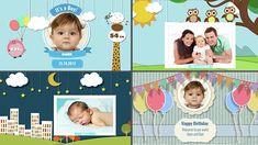 Baby Photo Album - Brithday