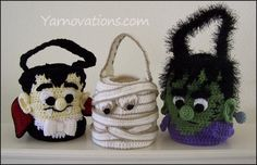 Trick or Treat Bags for Halloween - inspirations for mini.