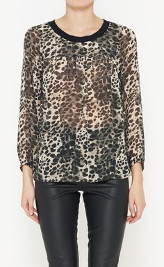 Leopard and Leather....