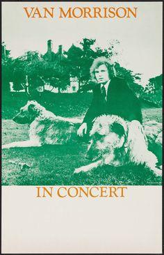 Van Morrison in Concert Stock Poster