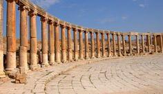 Jerash, en Jordania, una de las decápolis romanas #Historia
