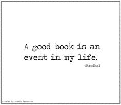 Quotable - Stendhal